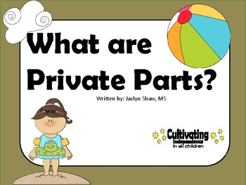 What are Private Parts? Social Story