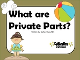 """A Social Story - """"What are Private Parts?"""""""