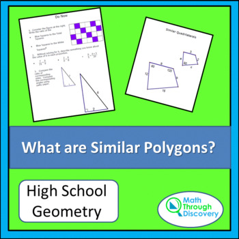 Geometry:  What are Similar Polygons?