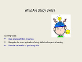 What are Study Skills - Lesson 1