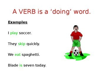 What are Verbs? PowerPoint