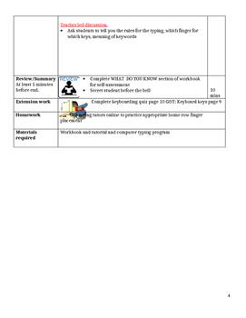 Grade 7 Year 7 ICT Computer Basics - 12 Lesson Plans