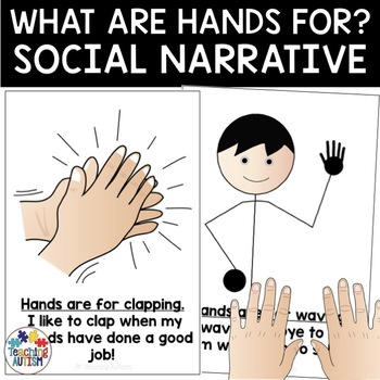 What are hands for? Autism Social Story