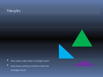 What are polygons?