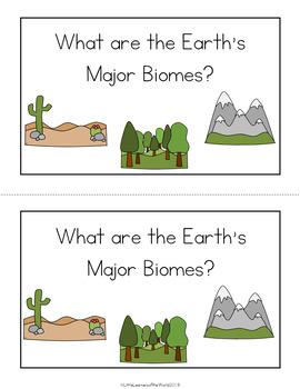 Biomes Emergent Reader