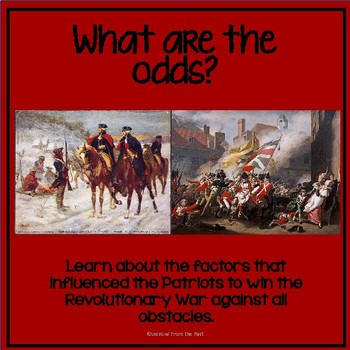 What are the Odds?  Revolutionary War