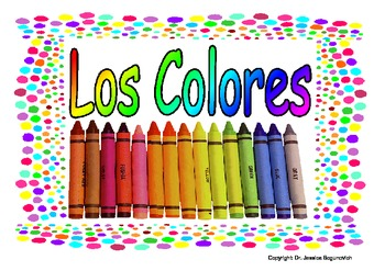 Colors in Spanish Set of Posters