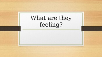 What are they feeling? Social Skills