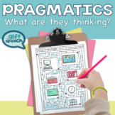 What are they thinking? Pragmatic language & perspective taking