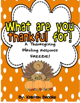 What are you thankful for? (FREEBIE!)
