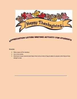 What are you thankful for? Thanksgiving appreciation notes template