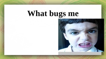 What bugs me