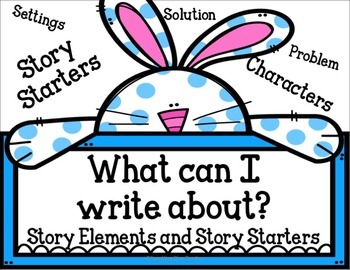 What can I Write About: Story Elements and Story Starters