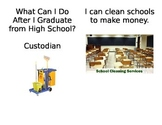 What can I do after High School...Custodian
