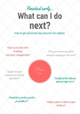 What can I do next? Student self-regulation chart