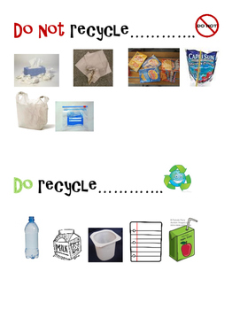 What can I recycle sign