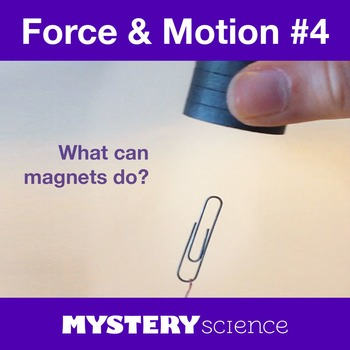 Forces&Motion NGSS:Magnets&Forces ❤ BUNDLE:Activity, Readi