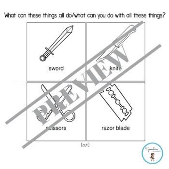 What can these things all do/what can you do with these things? (Blanks Level 2)