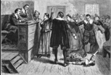 What caused the Salem Witch Trials? - Readings and Class d