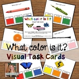 What color is it? Visual Task Cards (Autism and Special Education)
