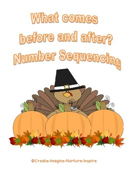 What comes before and after?  Number Sequencing