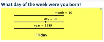 What day of the week were you born?