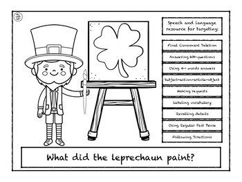 What did Leprechaun paint?