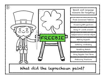 What did Leprechaun paint? (Freebie)