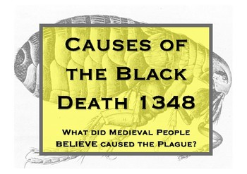 What did Medieval people believe caused the Black Death? full lesson