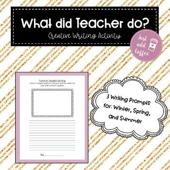 What did Teacher do?