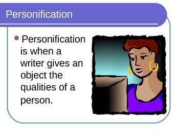 What did What? Personification Powerpoint