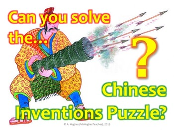 What did the Ancient Chinese invent Puzzle!