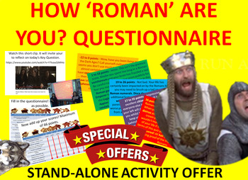 How 'Roman' Are You? Questionnaire