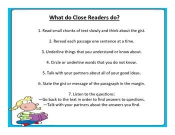 What do Close Readers do?