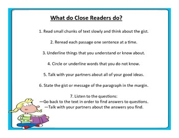 What do Close Readers do?