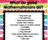 What do Good Mathematicians do? POSTER