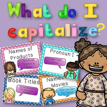 What Do I Capitalize? {14 Posters for Teaching}