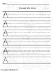 What do I see Alphabet Uppercase trace and Write set 2