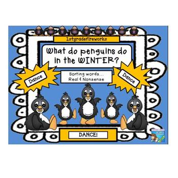 What do Penguins do in the Winter? DANCE!