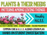 What do Plants Need to Survive? Lesson Plan ( K-LS1-1 ) NGSS Life Science