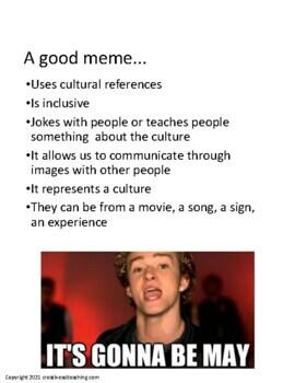 What do You Meme? A Deaf Culture Activity - ASL/Deaf/HH