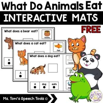 What Do Animals Eat? (Freebie)