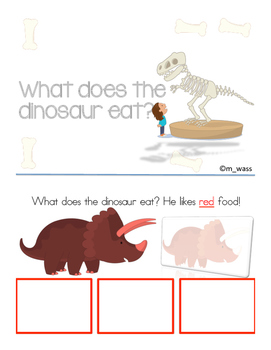 What do dinosaurs eat?