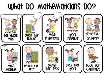 What do mathematicians do?