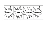 What do plants need flip book