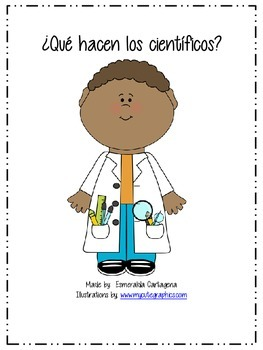 What do scientists do-Spanish Posters