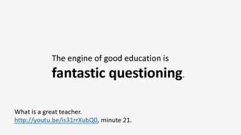 What do great teachers do?