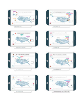 What do these states have in common? Question Cards