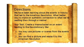 What do you Meme? American Revolution!