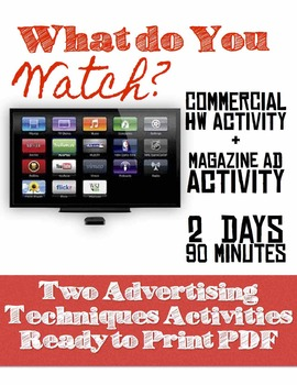 What do you Watch?: Advertising/Commercial Activity